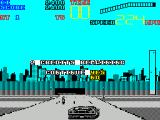 Chase H.Q. II: Special Criminal Investigation ZX Spectrum One life over and the bad guys have not been caught, of course the game will continue!
