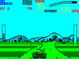 Chase H.Q. II: Special Criminal Investigation ZX Spectrum When a villain has been sighted a status bar on the left indicates the damage caused. The player has until the countdown timer runs out to fill this column by shooting their car