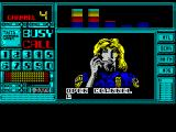 S.C.I.: Special Criminal Investigation ZX Spectrum Another message. 'A station wagon has been spotted on the coast freeway with a girl aboard apparently the missing Joyce. Get on it immediately. High powered rocket launcher, 6 shots'