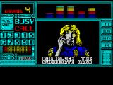 "Chase H.Q. II: Special Criminal Investigation ZX Spectrum Another chase. ""Bob Black syndicate gang boss is in a limousine speeding towards the mountains, get him'"