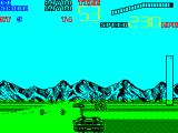 Chase H.Q. II: Special Criminal Investigation ZX Spectrum Here there are oil drums in the road...