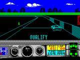 Days of Thunder ZX Spectrum The start of the qualifying lap