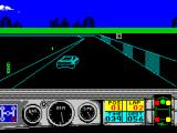 Days of Thunder ZX Spectrum After pink the tyre's colour changes to red, then yellow and finally white. After that any further contact results in a crash with the car spinning along the track