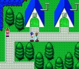 Mateki Densetsu Astralius TurboGrafx CD Nice green-blue town!... Oh, whom am I kidding? The town, like of the rest of the graphics here, looks terrible.