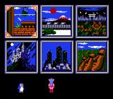 Wai Wai World NES Level selection screen