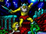 Stormlord ZX Spectrum Loading screen