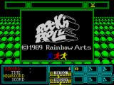 Rock 'n Roll ZX Spectrum Title