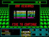 Rock 'n Roll ZX Spectrum Highscores