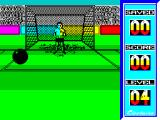 Penalty Soccer ZX Spectrum This is a curving shot