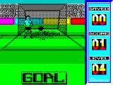 Penalty Soccer ZX Spectrum Missed it! The first few shots are awkward as the player learns to judge the way the ball moves and diminishes with distance