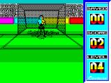 Penalty Soccer ZX Spectrum Straight down the middle and well saved