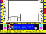 Pictionary: The Game of Quick Draw ZX Spectrum From this its obvious that the answer is a cafe or restaurant. Now what were those keys again?