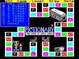 Pictionary: The Game of Quick Draw ZX Spectrum Game options : number of players / teams