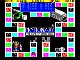 Pictionary: The Game of Quick Draw ZX Spectrum Game options : difficulty level