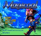 Magicoal TurboGrafx CD Title screen