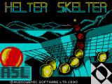 Helter Skelter ZX Spectrum This is the screen that displays while the game loads