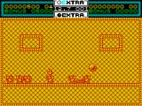 Helter Skelter ZX Spectrum Now the target monster has been hit the score has increased to 500, and a new monster becomes the target