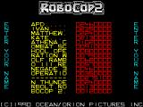 RoboCop 2 ZX Spectrum The Hi-Score table and 275100 is enough to get a place on it