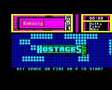 Hostage: Rescue Mission BBC Micro Title page.