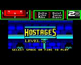 Hostage: Rescue Mission BBC Micro Now starting level 2.