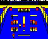 Mikie BBC Micro Level 2: The locker room.