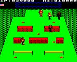Mikie BBC Micro Level 5: Outside in the school garden.