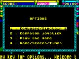 Trailblazer ZX Spectrum Options