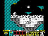 Ruff and Reddy in the Space Adventure ZX Spectrum Start
