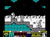 Ruff and Reddy in the Space Adventure ZX Spectrum Aliens on cycles