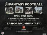 Madden NFL 08 Windows EA Sports Fantasy Football advertisement