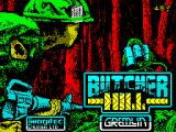 Butcher Hill ZX Spectrum Title screen
