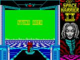 Space Harrier II ZX Spectrum Stage name