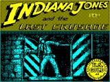 Indiana Jones and the Last Crusade: The Action Game ZX Spectrum Title screen