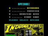 Indiana Jones and the Last Crusade: The Action Game ZX Spectrum Options