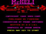 Mr. Heli ZX Spectrum Title