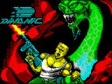Bestial Warrior ZX Spectrum Loading screen