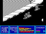 Back to the Future Part II ZX Spectrum The level changed viewpoint and scrolling direction.