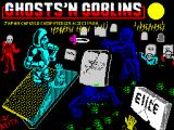 Ghosts 'N Goblins ZX Spectrum Title screen