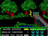 Masters of the Universe: The Arcade Game ZX Spectrum Need to cross a pit with spikes