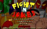 Fight'N'Jokes DOS Title and menu