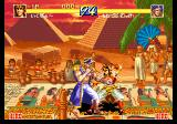 World Heroes Perfect SEGA Saturn Taking on Captain Kidd. Nice backgrounds!..