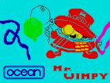 Mr. Wimpy: The Hamburger Game ZX Spectrum Title screen