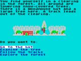 Danger Mouse in the Black Forest Chateau ZX Spectrum We start off at a Woodmouse's hut.