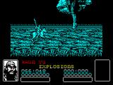 Dynasty Wars ZX Spectrum Start of the game