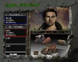 BattleTanx: Global Assault PlayStation The multiplayer setup screen.