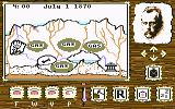 Journey to the Center of the Earth Commodore 64 Choose your actions on this map screen.