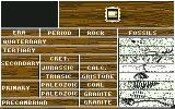 Journey to the Center of the Earth Commodore 64 Searching for fossils