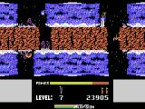 H.E.R.O. ColecoVision Killed by some lava, ouch!