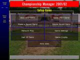 Championship Manager: Season 01/02 Windows After the game Settings, which tweaks the game controls, comes the screen that tweaks the game play options