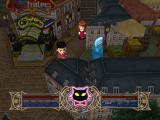 Sakura Taisen 3: Pari wa Moete iru ka? Windows Town navigation. This icon appears if there is an event nearby. You can choose to ignore it, too